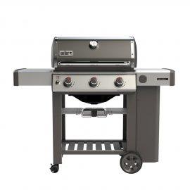 Weber Genesis II E-310 GBS, Smoke Grey 2019 + gratis Abdeckhaube