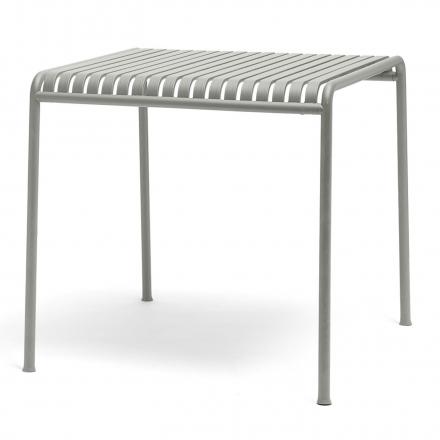 Tisch Palissade quadratisch Farbe sky grey