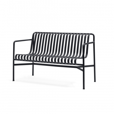 Bank Dining Palissade Farbe anthracite