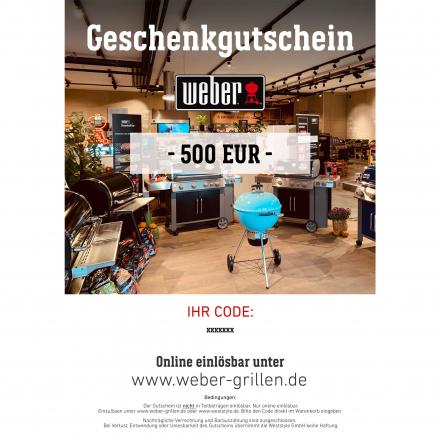 Weber Geschenkgutschein 500 EUR