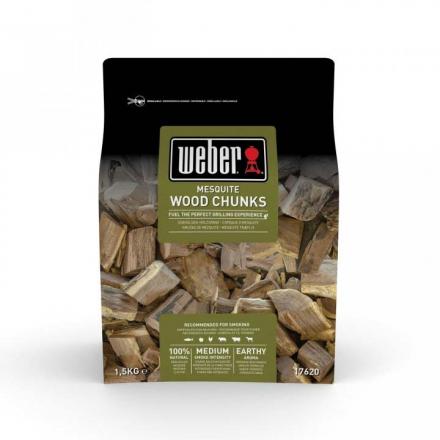 Offline Weber Wood Chunks Mesquite