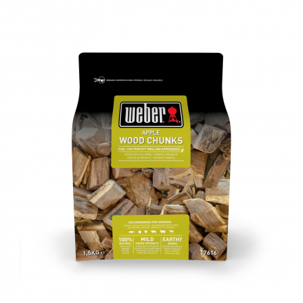 Weber Wood Chunks Apfel