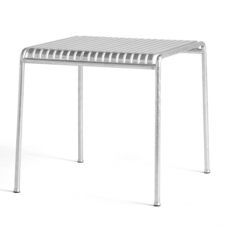 Tisch Palissade quadratisch Farbe hot galvanised