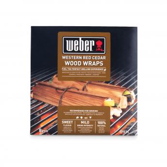 Weber Wood Wraps - Zedernholz  (8 Stück)