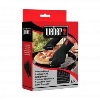 Weber Grillhandschuh-Set aus Kevlarmischgewebe (S/M)