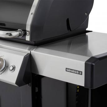 Weber Gasgrill Genesis II EX-315 GBS, Black 2021 + inklusive Abdeckhaube