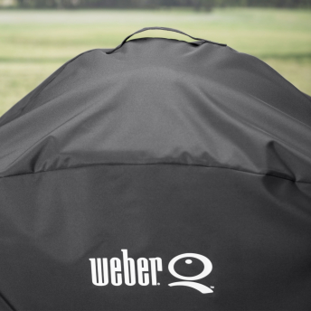 Weber Abdeckhaube Q 2200 + 3200 Premium Rollwagen