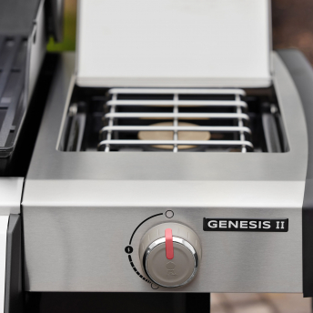 Weber Gasgrill Genesis II EX-335 GBS, Black 2021 + inklusive Abdeckhaube