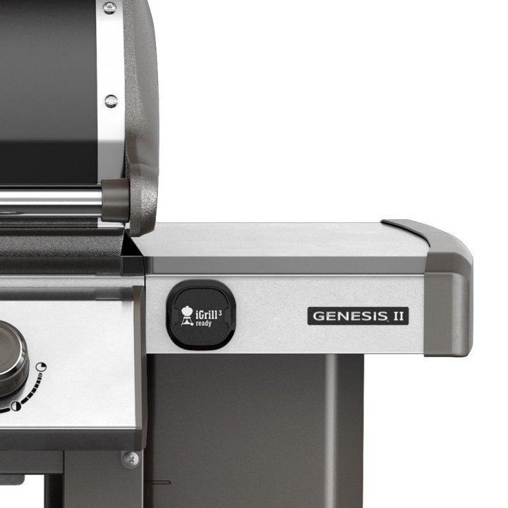 Weber Genesis II E-310 GBS, Black 2019 + gratis Abdeckhaube 4