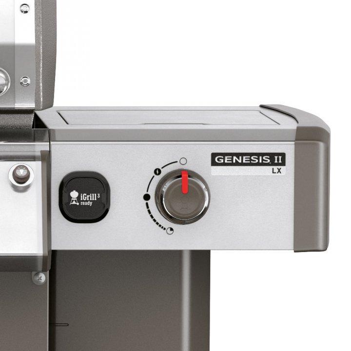 Weber Genesis II LX S-340 GBS, Edelstahl + Weststyle Edition 4
