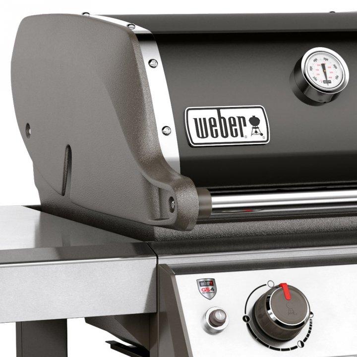 Weber Genesis II E-310 GBS, Black 2019 + gratis Abdeckhaube 6