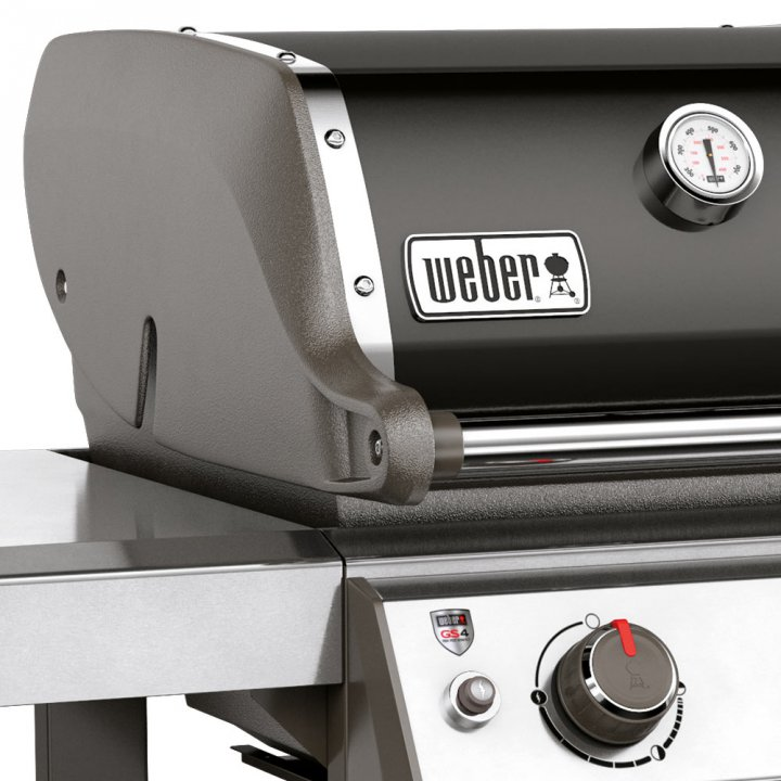 Weber Genesis II E-210 GBS, Black (2017/2018) 6
