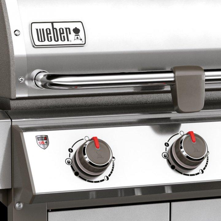 Weber Genesis II LX S-340 GBS, Edelstahl + Weststyle Edition 6