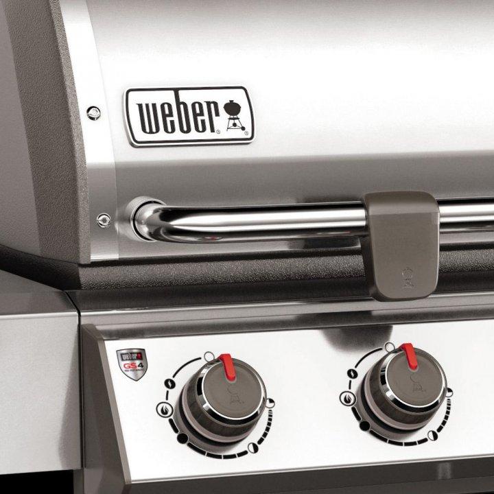 Weber Genesis II LX S-640 GBS, Edelstahl 6