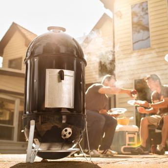 Weber Smokey Mountain Cooker 47 cm + inklusive Abdeckhaube