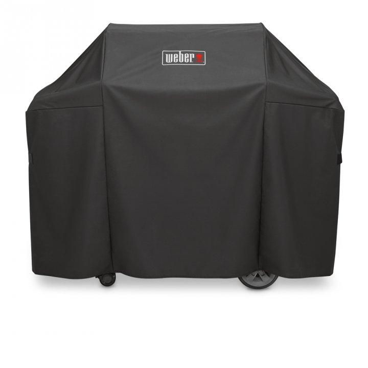 Weber Genesis II E-310 GBS, Black 2019 + gratis Abdeckhaube 7
