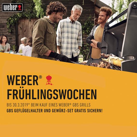 Weber Grill Frühlingswochen