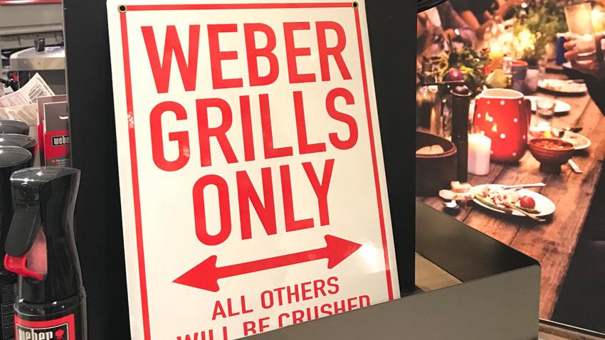 Weber Original Store 7